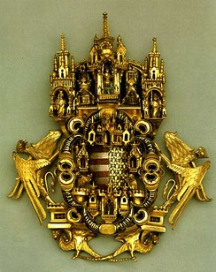 The Golden Cloak clasp, Hungarian Chapel in the Cathedral of Aachen