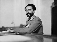 Haile Selassie was the last Emperor of the Ethiopian Empire.