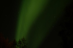 Northern Lights and Big Dipper at Fairbanks, AK during September.
