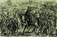 Stephen Bocskay, leader of Hungarian Calvinists in anti-Habsburg rebellion and first Calvinist prince of Transylvania (r. 1605–1606)