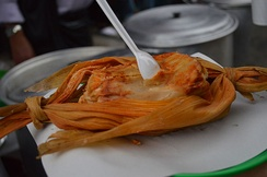 A tamale