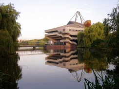 Central Hall and the lake