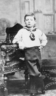 Churchill, aged six, in 1881.[1]