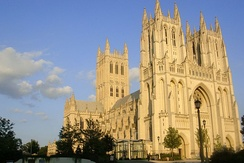 The Cathedral Church of Saint Peter and Saint Paul in the City and Diocese of Washington, located in Washington, D.C., is operated under the more familiar name of Washington National Cathedral.