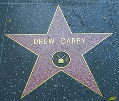Carey's star on the Hollywood Walk of Fame