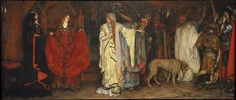 King Lear: Cordelia's Farewell by Edwin Austin Abbey