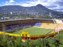 The Estadio Cuscatlán in San Salvador is the largest stadium in Central America