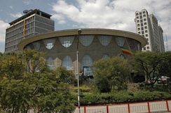 The Commercial Bank of Ethiopia in Addis Ababa