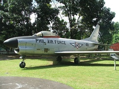 F-86D of the Philippine Air Force.