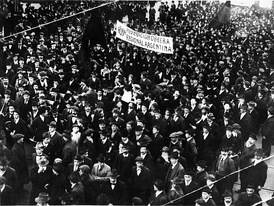Demonstration by the Argentine syndicalist union FORA in 1915