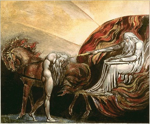 God Judging Adam by William Blake, 1795, Tate Collection