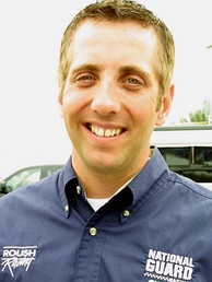 Greg Biffle (pictured in 2004) led more laps than any other driver, 113, but finished third after an incorrect tire strategy.