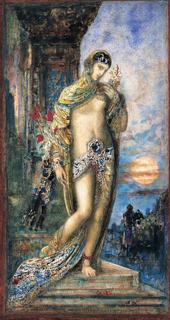Song of Songs (Cantique des Cantiques) by Gustave Moreau, 1893