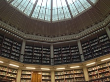 King's College London's Maughan Library, the biggest university library in the UK