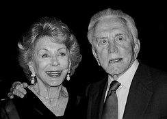 Kirk Douglas and Anne Buydens at the 2003 Jefferson Awards for Public Service ceremony