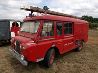 Land Rover series IIA forward control fire engine