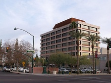 Mesa City Hall in downtown Mesa