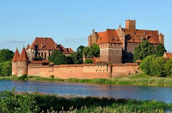 The Teutonic Order's castle at Marienburg