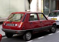 First generation, five doors:  the five-door hatchback was added to the range in July 1979