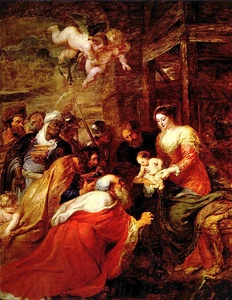 Adoration of the Magi, Rubens, 1634