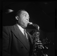 Jazz saxophonist and composer Charlie Parker