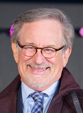 Spielberg promoting Ready Player One (2018) in Japan