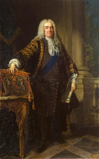 Sir Robert Walpole, Prime Minister of Great Britain, from the studio of Jean-Baptiste van Loo, 1740