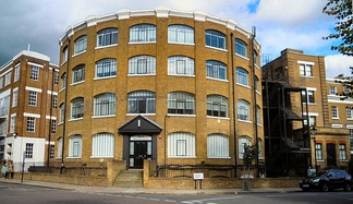 School of Sound Recording London on Gloucester Crescent in Camden Town