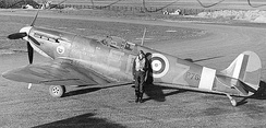 "Spitfire Mk IIA, P7666, EB-Z, ""Observer Corps"", was built at Castle Bromwich, and delivered to 41 Squadron on 23 November 1940.[nb 5]"