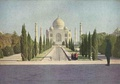 An Autochrome of the Taj Mahal reproduced in The National Geographic Magazine, March 1921.