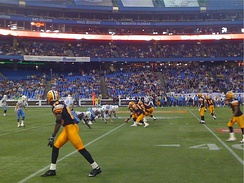 Hamilton Tiger-Cats vs. Toronto Argonauts at the Rogers Centre, 11 September 2009