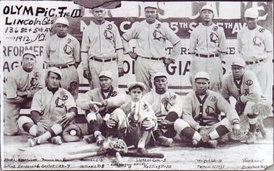 The 1912 Lincoln Giants