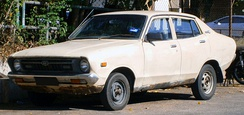 The Datsun 120Y was a best-seller in Malaysia.