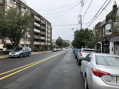 County Route 29 (Anderson Avenue) in Cliffside Park