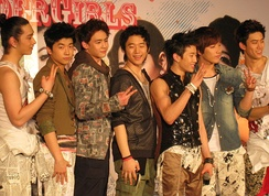 2PM at press conference in Bangkok, in February 2009
