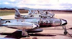 506th Strategic Fighter Wing F-84G Thunderjets 1954