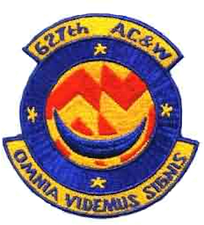 627 Radar Squadron patch