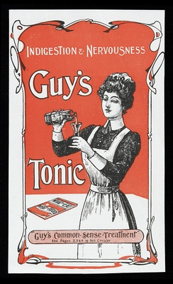 Advertisement for Guy's Tonic in the  1900s