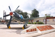 A Sea Fury F 50 preserved at the Museo Giron, Cuba in 2006