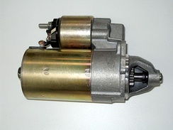 Electric starter as used in automobiles