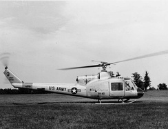 A Bell XH-40, a prototype of the UH-1