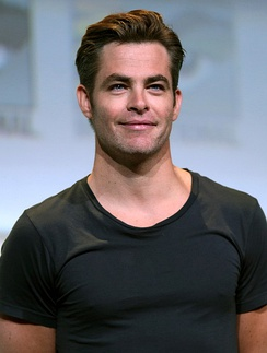 Chris Pine portrayed Kirk from 2009 until 2016
