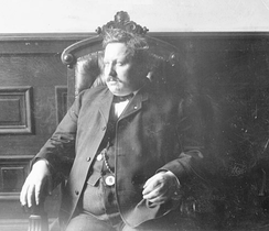 Cornelius Shea, first General President of the Teamsters, circa 1905