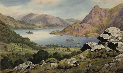 Ullswater painted by John Parker 1825