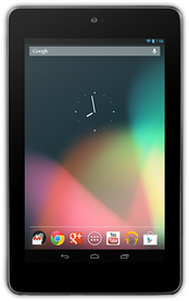 The first-generation Nexus 7 tablet, running Android 4.1 Jelly Bean