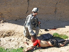 Young Afghan farmer boy murdered on 15 January 2010 by a group of US Army soldiers called the Kill Team