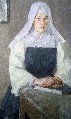Gwen John's painting The Nun