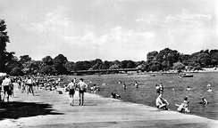 The Hyde Park Lido, one lasting result of Lansbury's brief term of national office