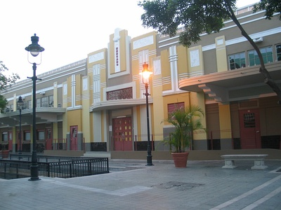 The Plaza del Mercado de Ponce in Ponce, Puerto Rico (1941)