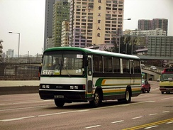 Isuzu LT132L on a Hong Kong motorway
